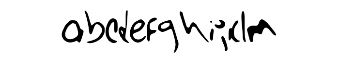 Barista_Tall Font LOWERCASE