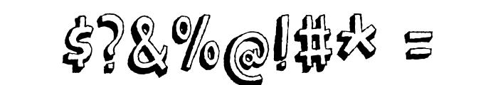 BarkingCatDEMO Font OTHER CHARS