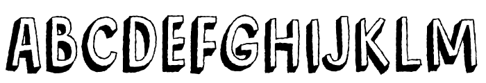 BarkingCatDEMO Font UPPERCASE