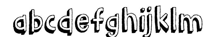 BarkingCatDEMO Font LOWERCASE