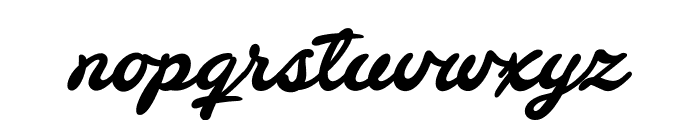 Barley Script PERSONAL USE Font LOWERCASE