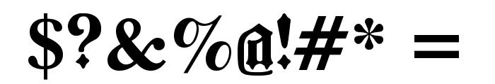 BarloesiusSchrift Font OTHER CHARS