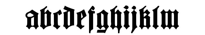 BarloesiusSchrift Font LOWERCASE