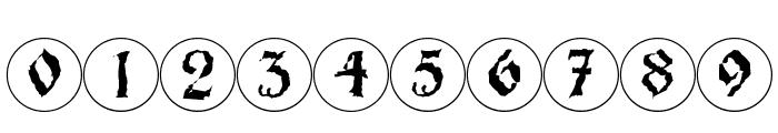 Barlos-RandomRings Font OTHER CHARS