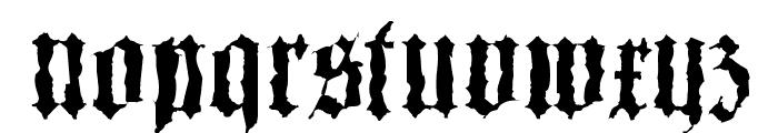 Barlos-Random Font LOWERCASE