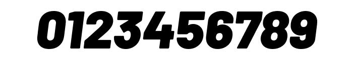 Barlow Black Italic Font OTHER CHARS