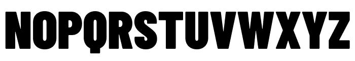 Barlow Condensed Black Font UPPERCASE