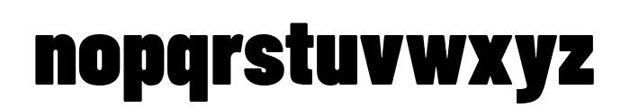 Barlow Condensed Black Font LOWERCASE