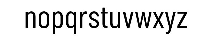 Barlow Condensed Regular Font LOWERCASE