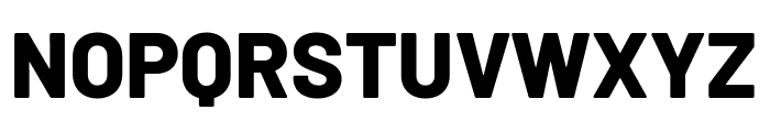 Barlow ExtraBold Font UPPERCASE