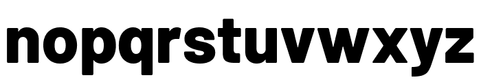 Barlow ExtraBold Font LOWERCASE