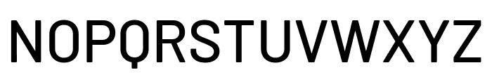 Barlow Medium Font UPPERCASE