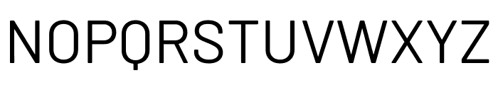 Barlow Regular Font UPPERCASE