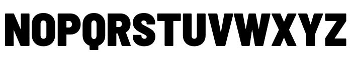 Barlow Semi Condensed Black Font UPPERCASE