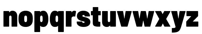Barlow Semi Condensed Black Font LOWERCASE