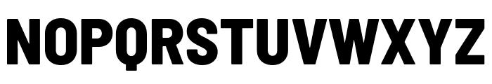 Barlow Semi Condensed ExtraBold Font UPPERCASE