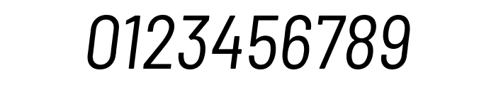 Barlow Semi Condensed Italic Font OTHER CHARS