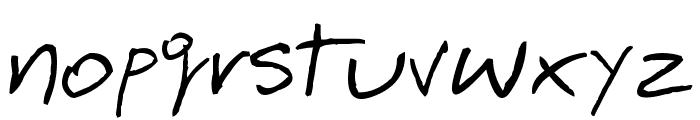 BarmeReczny Font LOWERCASE