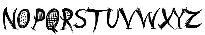 Barn Animal Font UPPERCASE