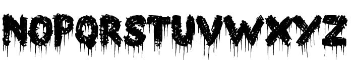 Barn House Font UPPERCASE