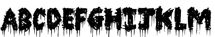 Barn House Font LOWERCASE
