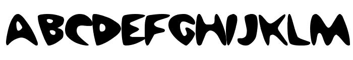 Barney Regular ttnorm Font UPPERCASE