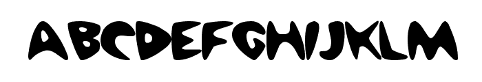 Barney Regular ttnorm Font LOWERCASE