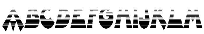 Barnroof Font LOWERCASE