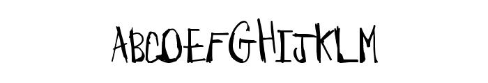 BarnyardMassacre Font LOWERCASE