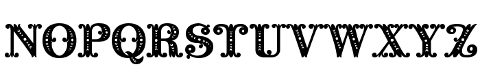 Barocco Initial Font UPPERCASE