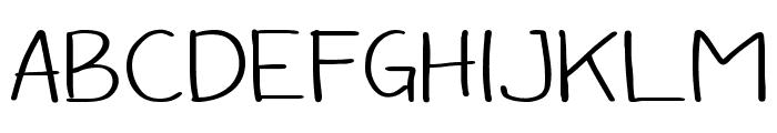 Barokah Font UPPERCASE