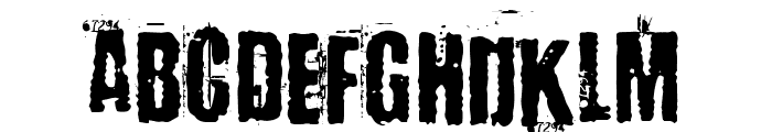 Baron Kuffner Font LOWERCASE