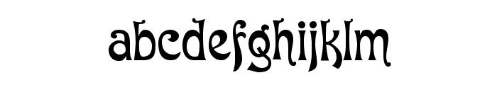 Baron Munchausen Normal Font LOWERCASE