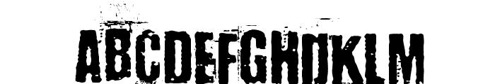 BaronKuffner Font UPPERCASE