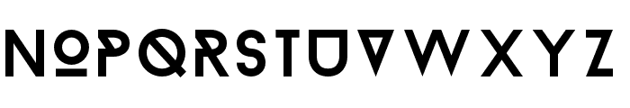 BaronNeue-Normal Font UPPERCASE