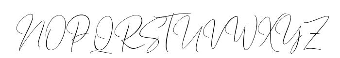BarosakiScript-Regular Font UPPERCASE
