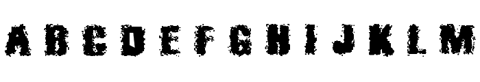 Barricades Font UPPERCASE