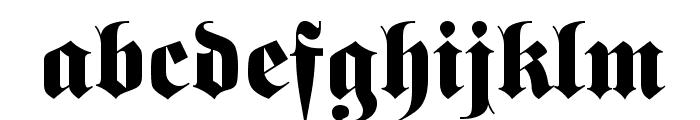 Barron Font LOWERCASE