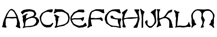 Bart Bold Font UPPERCASE