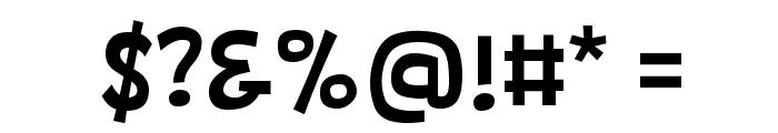 Barthowheel Regular Font OTHER CHARS