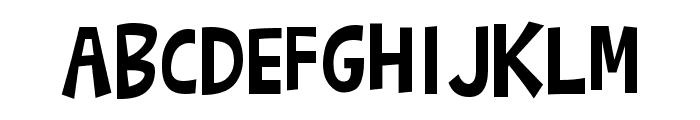 Barthowheel Regular Font UPPERCASE