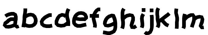 Barua Font LOWERCASE