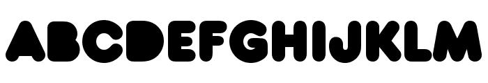 Baruta Black Font LOWERCASE