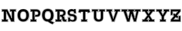 Bascula College Font UPPERCASE
