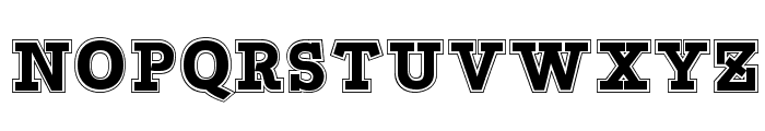 Bascula College Font LOWERCASE