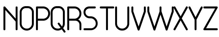 Base-4 Font UPPERCASE