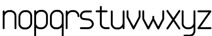 Base-4 Font LOWERCASE