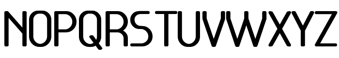 Base-5 Font UPPERCASE