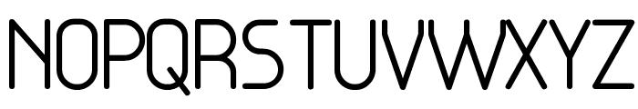 Base4 Font UPPERCASE