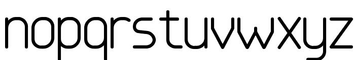Base4 Font LOWERCASE
